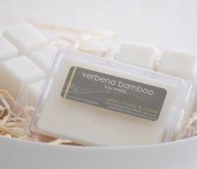 Soy Melts - Verbena Bamboo - Breakaway Clamshell