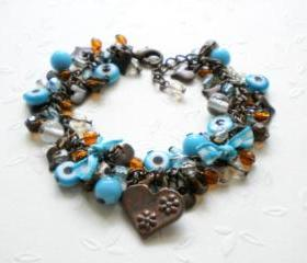 Evil Eye Bracelet - Charm Bracelet