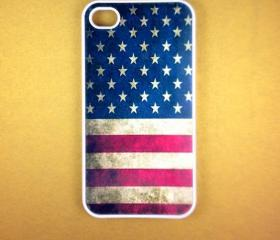 Iphone 4 Case - US Flag Iphone 4s Case, Iphone Case, Iphone 4 Cover