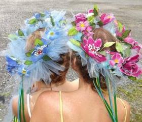 Custom Made Flower Headband