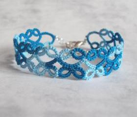 Turquoise Lace Bracelet