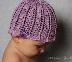 Crochet Baby Hat/6-12 months