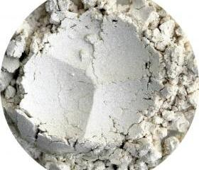 Mineral Eyeshadow, White shimmery, mineral makeup, eye highlight, Pearl eye color, all natural cosmetics