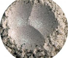 Mineral Eye shadow, white sparkly shimmery, neutral cosmetics, makeup eyeshadow - Diamond