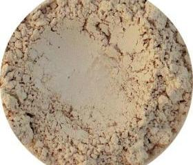 Mineral Matte Eye shadow, neutral nude beige color, Ivory, pure natural cosmetics, mineral makeup,