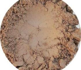 Mineral Matte Eye Shadow, light brown color, cocoa powder, eyeshadow cosmetics vegan