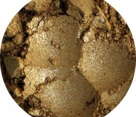 Mineral Eye shadow yellow gold eyeshadow color natural cosmetics makeup- Topaz birthstone collection