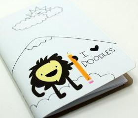 I Heart Doodles Pocket Notebook