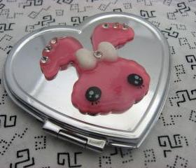 Funny Bunny Compact Mirror
