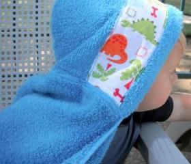 Custom Appliqued Hooded Towel