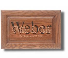 SIGNS, Personalized, Carved, Custom Wood, Upcycled Cabinet Door, Anniversary Wedding Gift, Solid Hardwood, Aprox 14 x 23 (size varies)