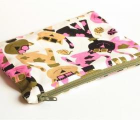 Zipper Pouch - Cool Cats