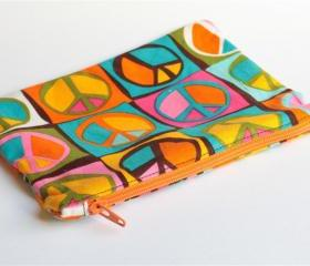 Zipper Pouch - Peace