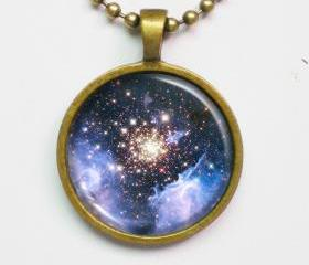 Galaxy Necklace - Nebula NGC 3603, Constellation Carina - Galaxy Series