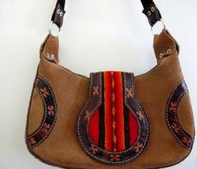 Vintage Mini Native American Style Tribal Purse Bag