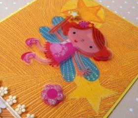 Birthday Card - Sweet Fairy