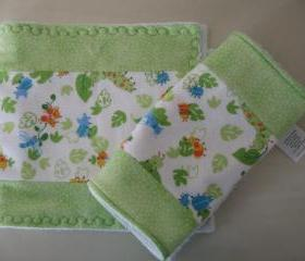 Buggy Burp Cloths