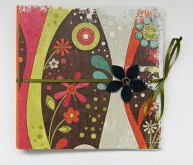 Scrappy Nonsense Mini Photo Album Scrapbook 6x6 ins - Ready to Ship