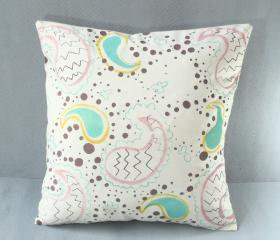 Pretty Paisley Cushion