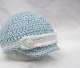  Baby hat - Crochet baby hat - Newborn baby hat- Crochet baby boy hat - Photo prop - Baby beanie - Beanie hat - 