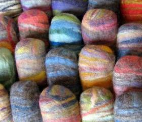 10 Felted Soap Unique Gift in Bulk
