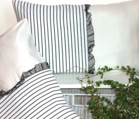 2 Decorative Pillows 20 x 12 inch