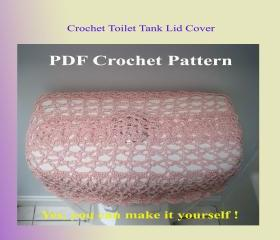 Crochet Pattern - Toilet Tank Lid Cover (9VC2012)