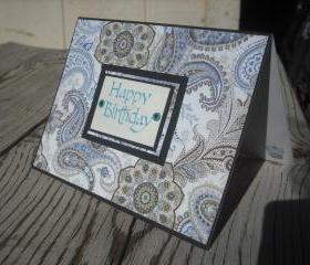 ➽ ➽ SALE ➽ ➽ Handmade 3D Happy Birthday greeting card