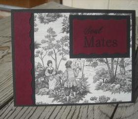 ➽ ➽ SALE ➽ ➽ Hand crafted Soul Mates greeting card