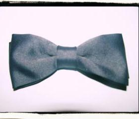 NEW REVERSIBLE BOWTIE - Grey & Black