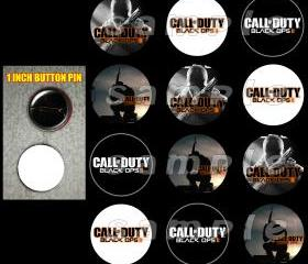 Call of Duty Black Ops 2 Set of 12 Buttons Make Great Party Favors