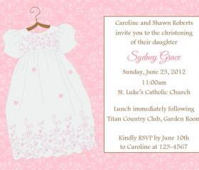 Baptism/Christening Invitation - Printable File
