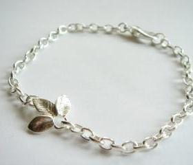Silver Flower Everyday Bracelet