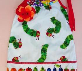 Very Hungry Caterpillar Pillowcase Dress