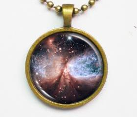 Cosmic Necklace -Snow Angel Sharpless 2-106(S106)- Galaxy Series