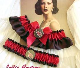 Arizona Cardinals - wedding garter set