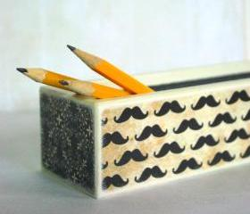 La Moustache Pencil Box