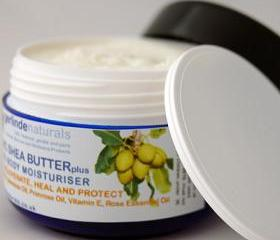 Organic Shea Butter Face & Body Moisturiser plus Calendula, Evening Primrose Oil and Vitamin E (rose scented) - 50ml