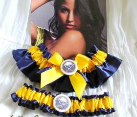 Buffalo Sabres Garter - 2pc wedding garter set