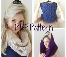 Cowl Crochet Pattern - PDF