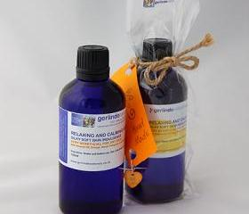 Relaxing and Calming Bath Oil with Orange and Lavender Essential Oils 100ml