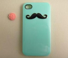 Unique mustache iPhone cases iPhone covers, designer iPhone 4 cases, custom iPhone 4 cases, cases for iPhone 4