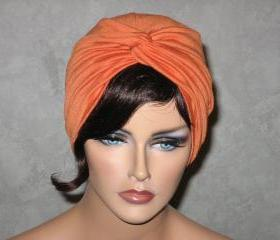 Handmade Twist Fashion Turban -Orange