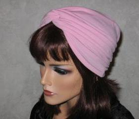 Handmade Twist Fashion Turban -Rose