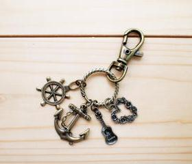Charm Key Chain, Let's SEA