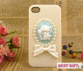 Lovely Plutus cat iPhone case, iPhone 4 covers, cool iPhone 4 cases, designer iPhone 4 cases
