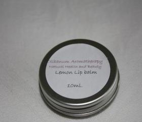 Lemon lipbalm tin 10ml