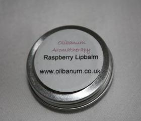 Raspberry lipbalm tin 10ml.