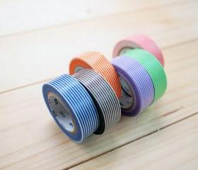 Japanese Masking Tape, Stripe set, mt
