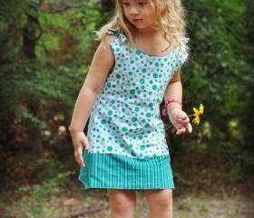 Allison Reversible Girls Dress Pdf Sewing Pattern